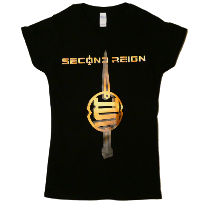 T-Shirt Second Reign Gold - Female